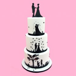 Patchwork Cutters - Wedding Silhouette