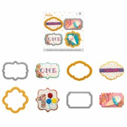 Decora Cookie cutter Mini frames 4 st