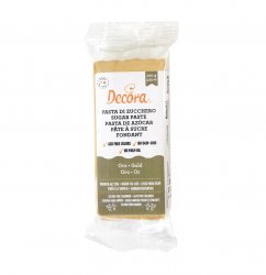 Decora sockerpasta 100 g - Gold