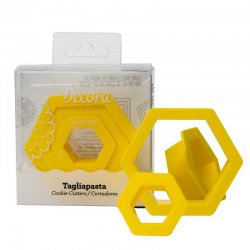 Decora utstickare Hexagon 3-pack