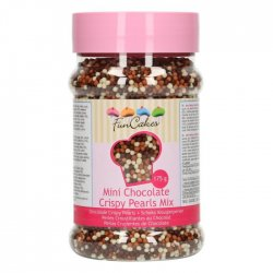 FunCakes strössel Mini Chocolate Crispy Pearls Mix