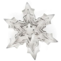 Cookie Cutter Ice Crystal 5-pack
