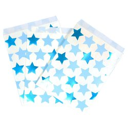 Treat Bags Little Star Blue