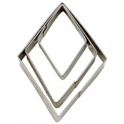 Cookie Cutter Diamant 3-pack 4-6 cm