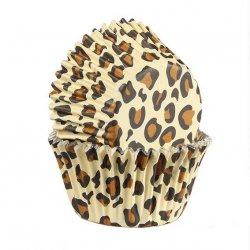 Baked with Love Muffinsformar Leopard 25 st