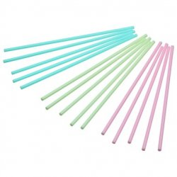 Cake Pops-pinnar - Pastell, 60-pack