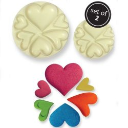 JEM Pop It Mould- Hearts 2-pack