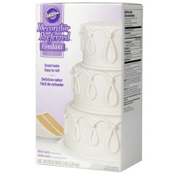 Sockerpasta Wilton Decorator Preferred Vit 2,2 kg