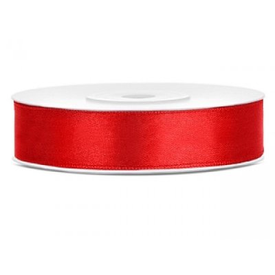 Satinband Red 12 mm