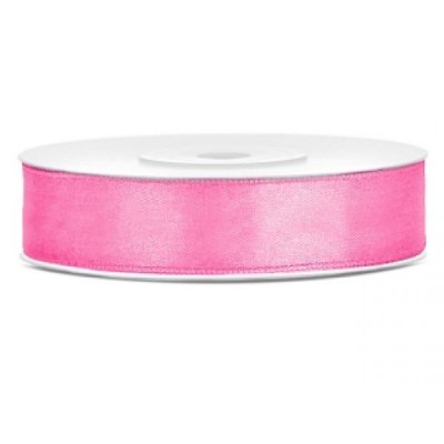 Satinband Pink 12 mm