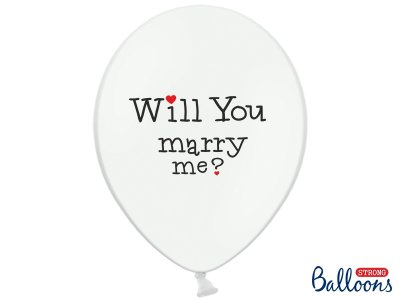 Ballonger Will you marry me?