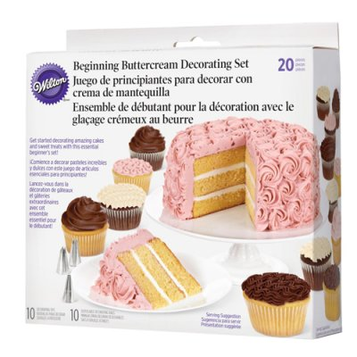 Wilton Buttercream Basic dekorationsset