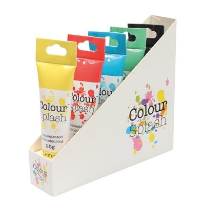 Färgpaket Colour Splash Bas pastafärg 5-pack