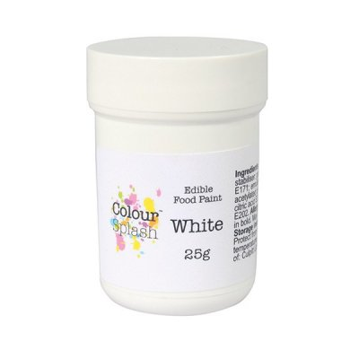 Paint Colour Splash White