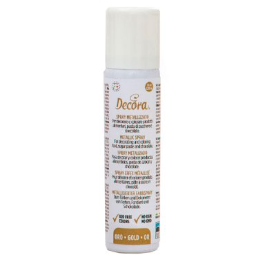 Decora Metallic spray Gold 75 ml