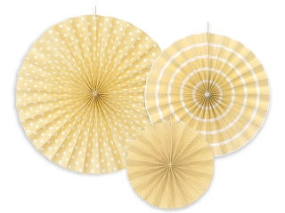 Decorative Rosettes Cream