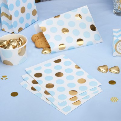 Pattern Works Treat Bags Blå Dots