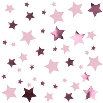 Konfetti Little Star Pink