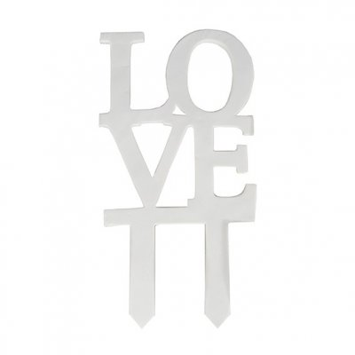 LOVE Cake Topper 93 mm