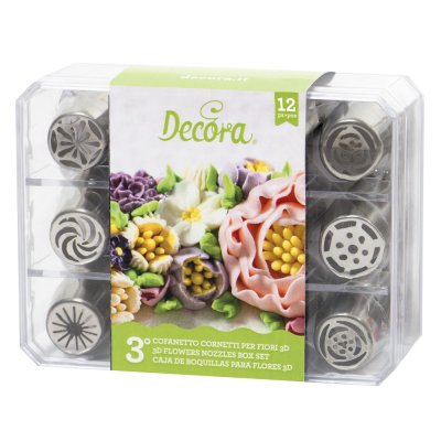 Decora Direct Nozzles 12-pack, var 3