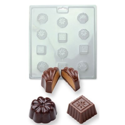 PME candy mould Classic Chocolates