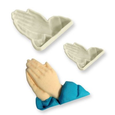 JEM Pop It Mould- Praying Hands 2-pack
