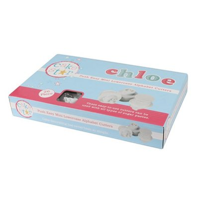 Cake Star Push Easy Mini Alfabeth Lower Case