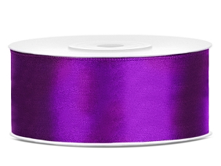Satinband Purple 25 mm