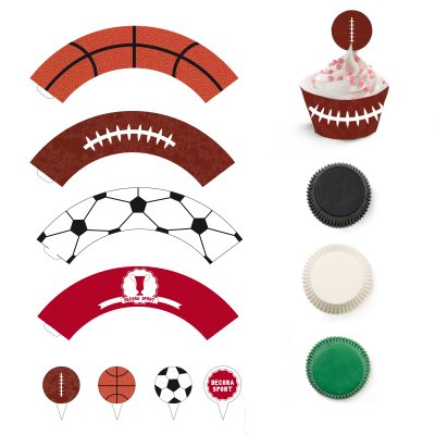 Decora cupcakes sport kit