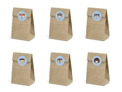 Woodland Treat Bags 6 st